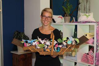 Madlen Kraml-Steiner hat ihr Hobby zum Beruf gemacht und in St. Veit eine Kreativwerkstatt mit Verkaufsraum eröffnet