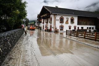Murenbangang in der Tiroler Gemeinde GSCHNITZ.