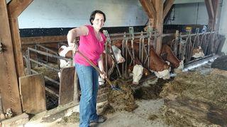 Auch Ingrid Gruber aus Floing freut die positive Entwicklung.