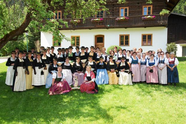 Der Verein Ebener Trachtenfrauen zählt mittlerweile 121 Mitglieder.