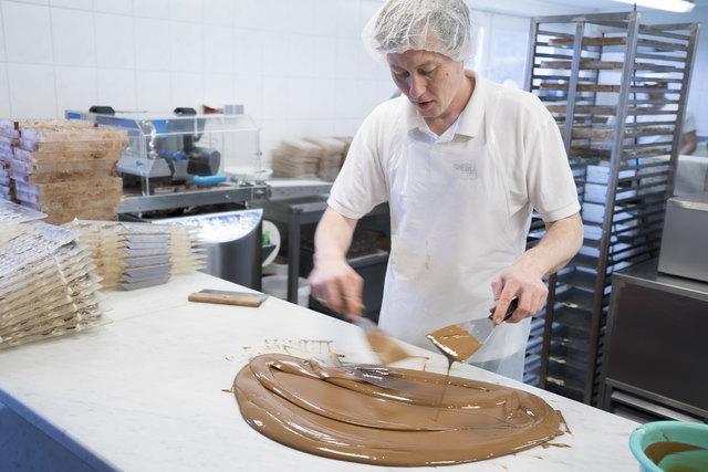 """""""Make my chocolate"""" - entwickle deine persönliche Schokolade mit verschiedenen Zutaten und Sorten."""