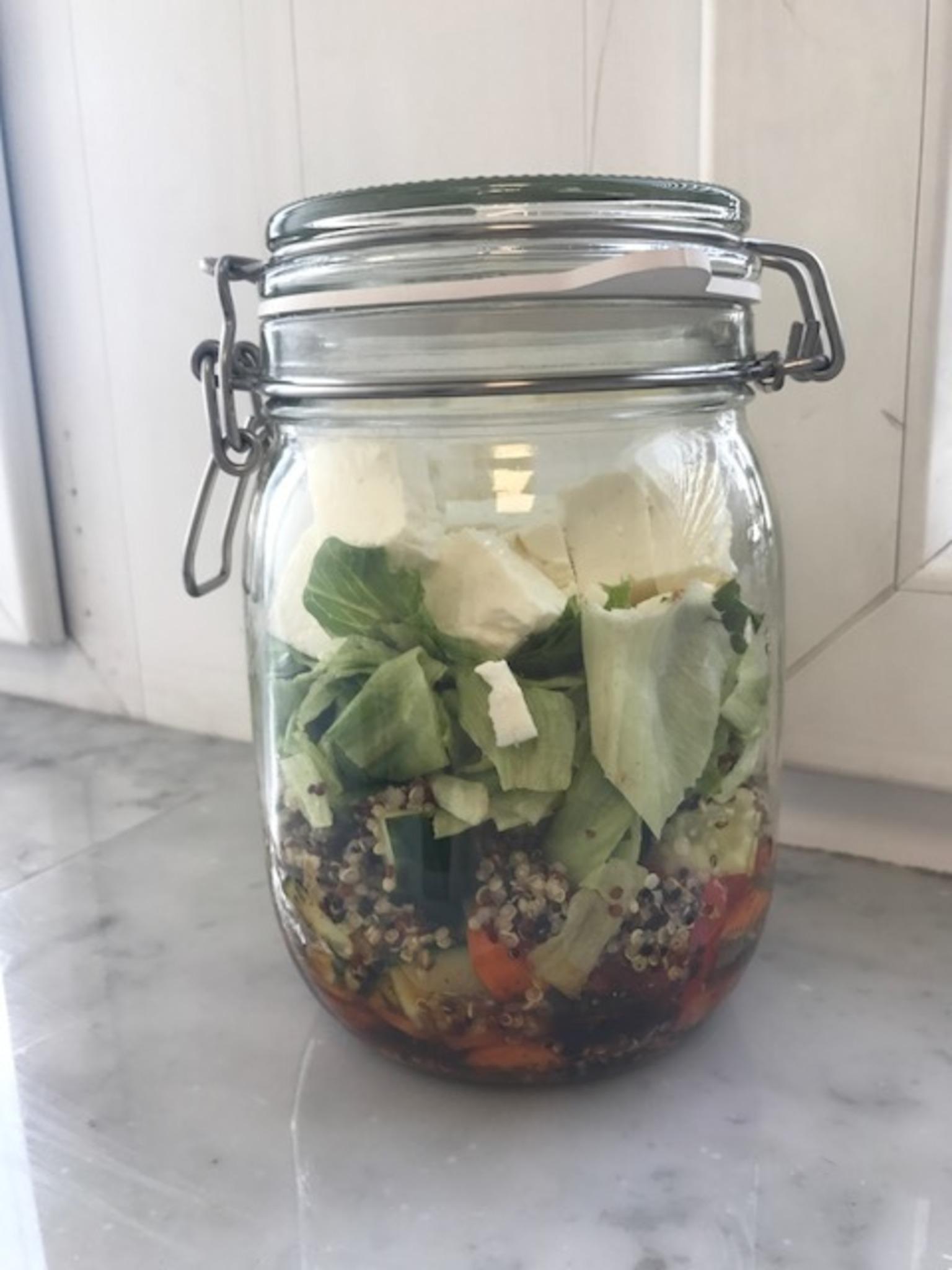 salat im glas zum mitnehmen rezeptbeispiel innsbruck. Black Bedroom Furniture Sets. Home Design Ideas