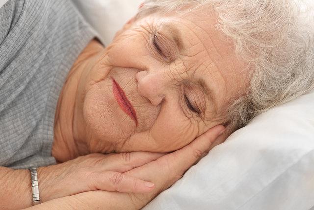Ein ruhiger Schlaf ist bei Reizblase eher selten.