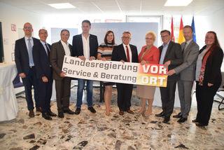 Landesregierung tagt in der Bezirkshauptmannschaft in Güssing für mehr Bürgernähe.