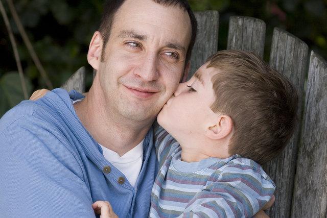 Ein guter Vater zu sein ist altersunabhängig.