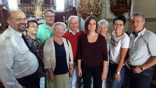 Auch Melissa Dermastia (Mitte) begeisterte beim Althofener Orgelsommer
