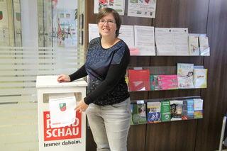In der Bürgerservice-Stelle des Ansfeldner Stadtamtes steht einer der insgesamt vier Briefkästen bereit.