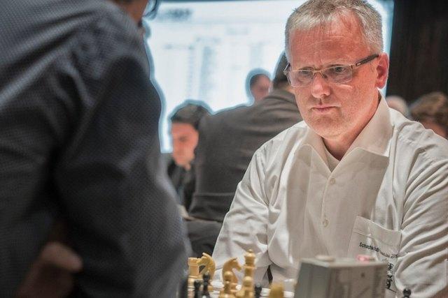 Der Obmann der Spielgemeinschaft Sauwald, Dietmar Hiermann holte sich den Landesmeistertitel.