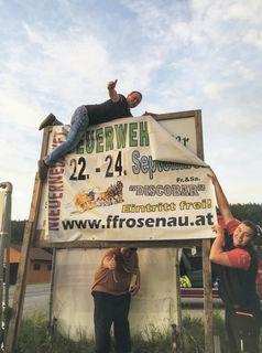 Die FF Schloss Rosenau lädt von 22. bis 24. September zum Fest nach Niederneustift.