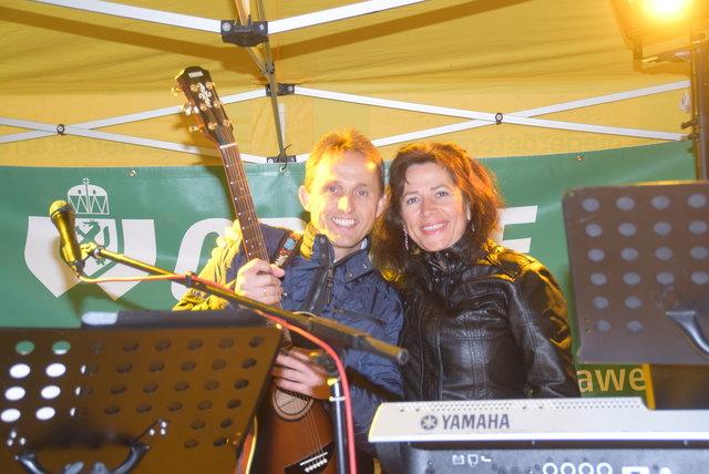Livemusik mit Gina & Bert