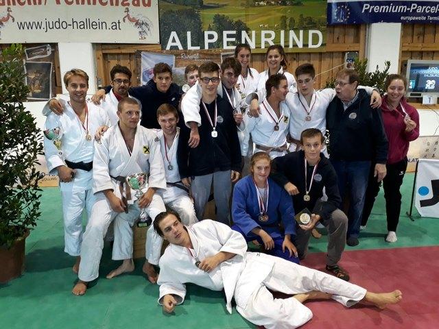 Die erfolgreichen Judoka der JUF bei den LM 2017