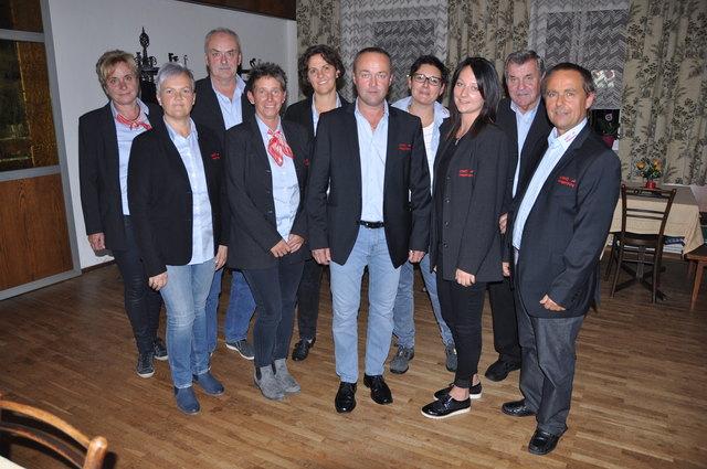 Vorstand und Sektionsleiter ASKÖ Hagenberg