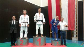 Engel Erber (li.) krönte sich zum Österreichischen Meister, holte in der internationalen Wertung Silber.