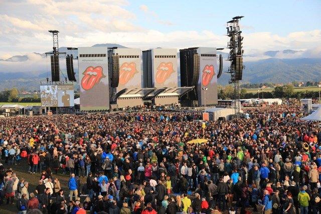 Tausende Fans genossen das Konzert. Foto: Zeiler