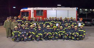 Ein Viertel der Kameraden der Freiwilligen Feuerwehr Am Thalbach (Thalheim) ist von Beruf Landwirt.