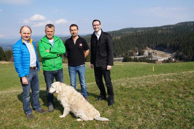 Im Edelschrotter Ortsteil Modriach wird hier eine Sommerrodelbahn entstehen, die Inbetriebnahme ist für Frühling 2018 geplant.