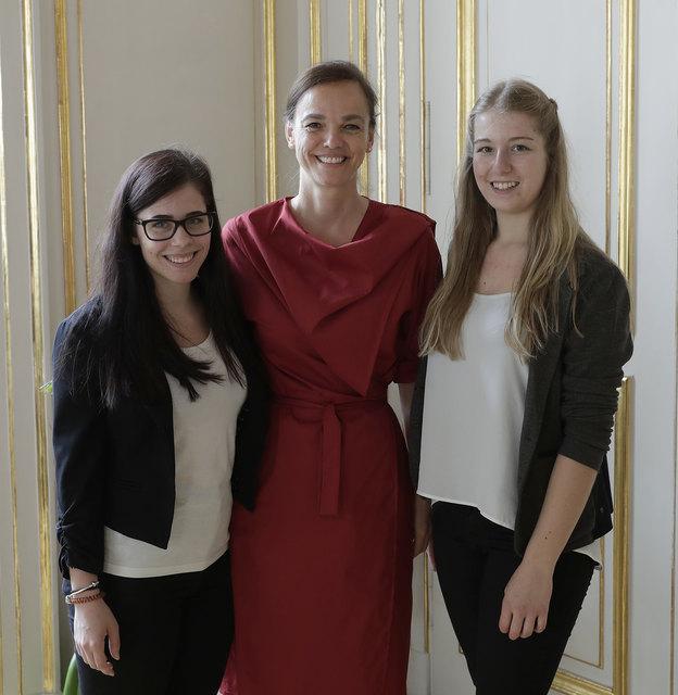 Prodio-Reporterinnen zu Besuch bei Bundesministerin Dr. Hammerschmid