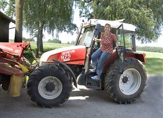 Anita Straßmayr übernahm vor rund 20 Jahren den Bauernhof ihrer Eltern. Sie lebten ihr die Freude am Beruf vor.