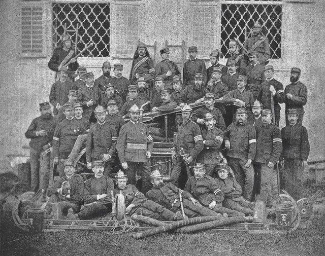 Das Gründungsfoto von 1872