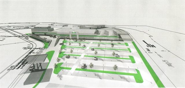 Das neue Kompetenzzentrum Lagerhaus Graz-Land am Voitsberger ÖDK-Gelände wird so aussehen.