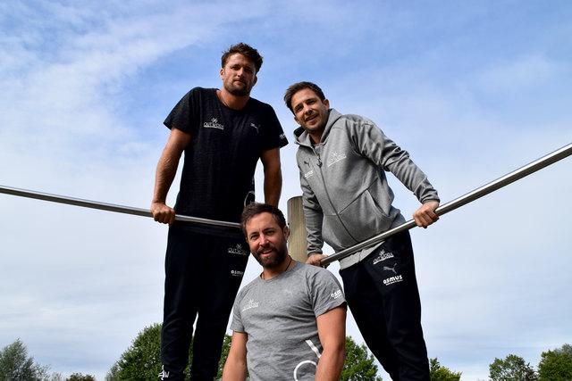 Profis am Werk: Alexander Schaar, Roland Stegmüller und Bernhard Bayer (im Bild von oben) haben getestet.