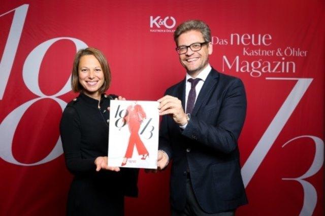 Stolz auf ihr Produkt: Marketingleiterin Andrea Krobath und Vorstand Martin Wäg.