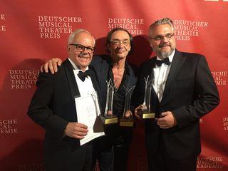 Robert Meyer, Christian Kolonovits und Christof Cremer (v.l.).
