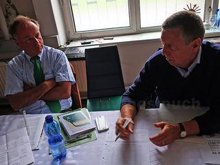 Mit großem Interesse an Zeitgeschichte und Landesgeschichte: Peter Piffl-Percevic (links) und Erich Mayer