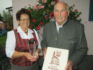 Das Ehepaar Margaretha und Walter Pichler feierte mit der diamantenen Hochzeit seine 60-jährige Verbundenheit.