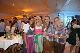 Carina, Christa, Caroline und Christina