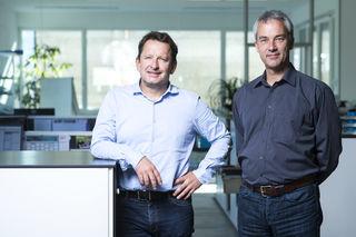Martin Eberhart (links) und Rainer Gaggl: Mit T.I.P.S. weltweit auf Erfolgskurs