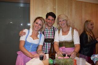 Sabine, Thomas (VBgm.) und Elisabeth