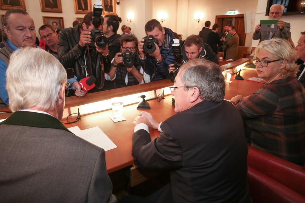 Bürgermeister Heinz Schaden erklärte am Mittwoch im Gemeinderat seinen Rücktritt