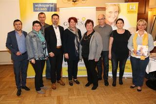 Werner Bernreiter, Sabine Wolfsberger, Thomas Buder, Friedrich Ofenauer, Monika Weixelbaum, Ricarda Öllerer, Ewald Wendtner, Daniela Heidegger, Sonja Bräunig.