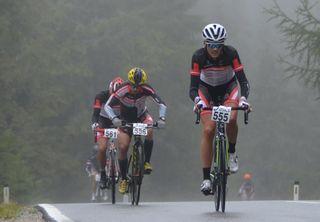 In einem nass-kalten Rennen krönte sich Christoph Seebacher (555) zum Clubmeister des RC Altenmarkt.