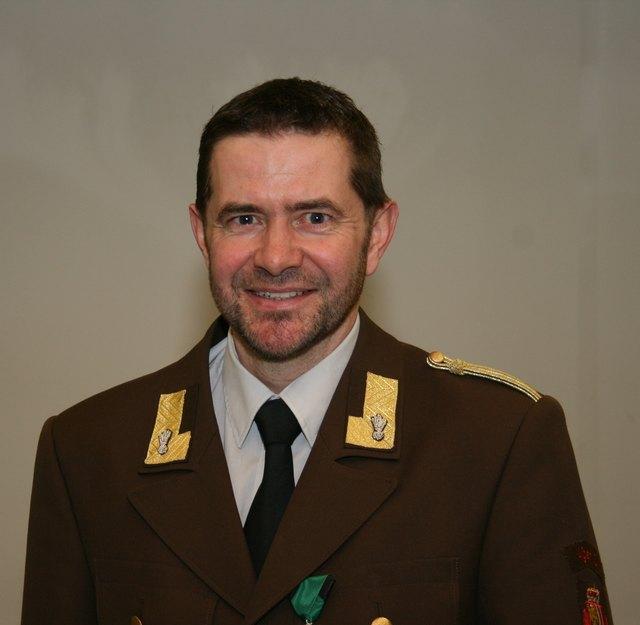 Thomas Stockinger ist Kommandant der Feuerwehr Aigen.