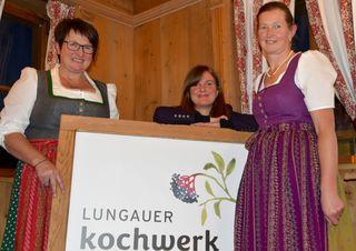 Roswitha Prodinger, jasmin Pickl und Rosemarie Rotschopf