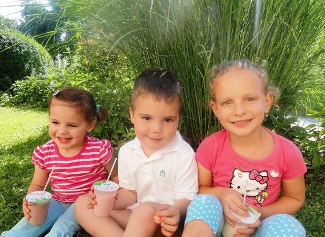 Kakao, Trinkjoghurt und Vaniellemilch sind bei den Kids besonders beliebt!