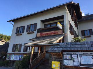 Die Bürgerservicestelle in Soboth.