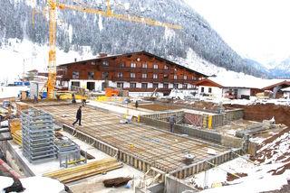 Beim Hotel Kitzspitz in St. Jakob wurden im Sommer umfangreiche Bauarbeiten durchgeführt.