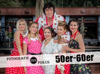 Models: Valentina Krippels, Alina Prath, Christina Passler, Lisa Tonko, Judith Hueber & Elvis | Foto: Paul Weber
