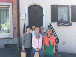 Edith, Lisl, Hermine, Christine und Rosa (v.l.n.r.) freuen sich an jedem Mittwoch auf viele SeniorInnen.