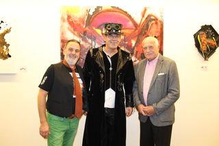 Klaus Rott und Alf Lengauer mit Václav Klaus