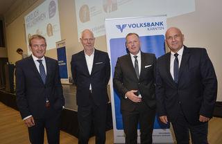 Edwin Reiter, Matthias Horx, Marc Harms, Johannes Jelenik (v.l.)