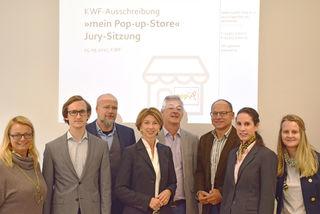 Präsentierten Gewinner: C. Holzinger, P. Gregori, A. Schwarz-Musch, G. Schaunig, E. Juritsch, H. Pucker, M. Sebastian und B. Felfernig