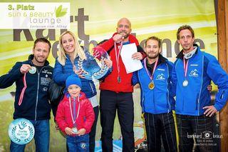 Das Team der Klagenfurter Sun & Beauty Lounge belegte Platz 3, hinter Taf-Rent und der Uniqa-Versicherung