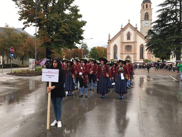 Die Musikkapelle Birgitz war neben der MK Thaur beim Fest der Europaregion im Trentino mit dabei!