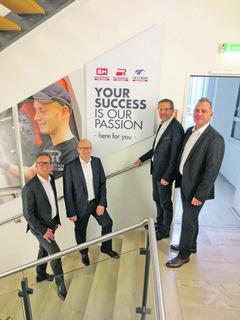 Geschäftsleitung: Die CEOs Gerhard Jakopic und Siegfried Altmann, CFO Werner Zierler, COO Josef Altmayr (v.l.).
