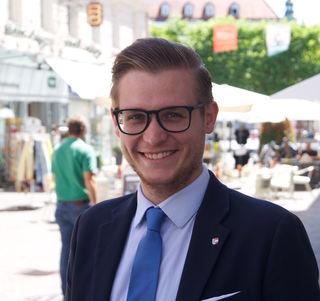 JVP-Bezirksobmann Julian Geier setzt sich als ÖVP-Erstgereihter im Wahlkreis Klagenfurt für die Attraktivierung des Standortes ein