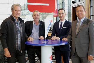 Machen Wohnträume wahr: (von rechts) Gernot Murko, Alexander Botscharow, Benedikt Hatzenbichler und Herbert Bednar